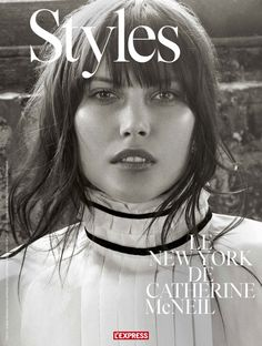 Catherine McNeil by Robbie Fimmano for L'Express Styles June 2015 7