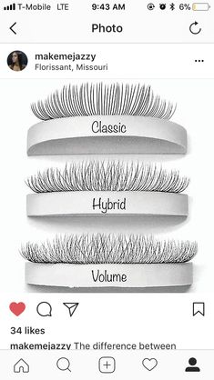 Useful Guide To Eyelash Extensions: Russian Lashes? Longer Eyelashes, Fake Eyelashes, Long Lashes, Magnetic Eyelashes, Eyelash Studio, Russian Lashes, Eyelash Extensions Styles, Lash Room, Eyelash Sets