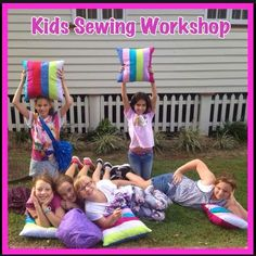 Patchwork Cushion, Fun Group, Sewing Class, School Holidays, Sewing For Kids, Our Kids, Gold Coast, Workshop, Club
