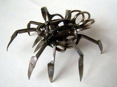 scissors spider