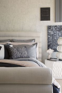 KELLY WEARSTLER | ZEPHYR BEDDING. Made from the softest cotton jacquard