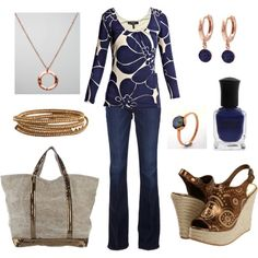 Weekend wear..., created by rkimball on Polyvore