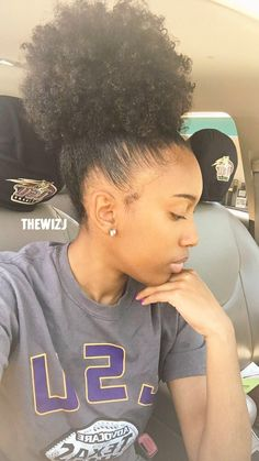 Top Quality human hair Ponytail afro kinky curly ,Natural color brazilian Hair ponytail Drawstring Ponytail human hair For Women My Hairstyle, Afro Hairstyles, American Hairstyles, Hairstyle Pictures, Hairstyles 2018, Updo Hairstyle, Wedding Hairstyles, Curly Hair Styles, Natural Hair Styles