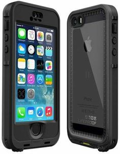 iPhone 5S Black with Gray nuud LifeProof Case $89.99