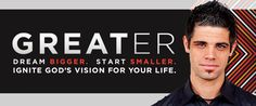 "[BOOK REVIEW]: Greater | Pastor Steven Furtick's book ""Greater"" is recommended reading for Christians who see a disconnect between the great things they read about in the Bible and the not-so-great things they see in their own life."