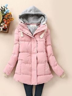 Long Sleeve Cotton Overcoat Overcoats from fashionmia.com
