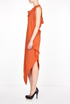 Resurrection Cut-Out Draped Maxi Dress by Vivienne Westwood A