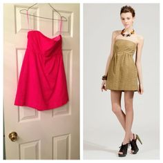 NWOT- Tibi Hot Pink Eyelet Romper Tibi Hot Pink Eyelet Romper NEVER WORN (the picture on the right is to show y'all how cute it is on!!! Tibi Dresses