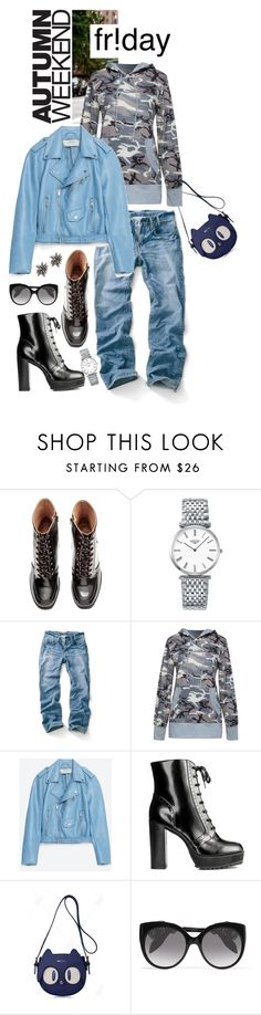 """Happy Friday...Happy Weekend !!!"" by shortyluv718 ❤ liked on Polyvore featuring Longines, WithChic, Jakke, Alexander McQueen and Alexis Bittar"