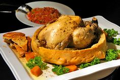 whole chicken in bread | Taiwanese cuisine