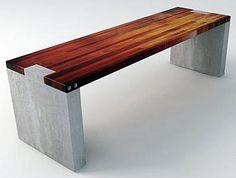 Modern Commercial-grade Outdoor Bench