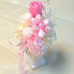 pastel pink petit arrangement