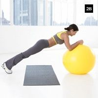 Flat ab work out burn-baby