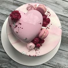 Pink cake😍 uploaded by Злата Охременко on We Heart It Pretty Cakes, Cute Cakes, Beautiful Cakes, Yummy Cakes, Amazing Cakes, Heart Cakes, Pistachio Cake, Bowl Cake, Fancy Desserts