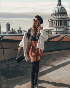 obsessed with this outfit🤩 Trendy Fall Outfits, Cute Casual Outfits, Girly Outfits, Stylish Outfits, Classy Winter Outfits, Autumn Outfits, Teenage Outfits, Winter Fashion Outfits, Cute Fashion