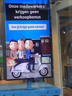 geen verkoopbonus bij medewerkers van belsimpel.nl