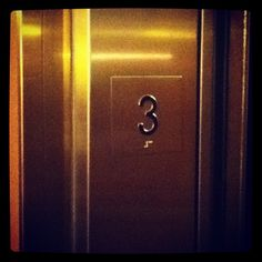 """Oh, fuck the paperwork!"" - Elevator 3 in The Heathman Hotel, Portland, Oregon, USA"