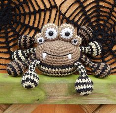 Ravelry: Spencer the Spider and Friends pattern by Moji-Moji Design
