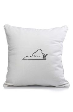 Cathy's Concepts 'Home State' Pillow | Nordstrom