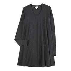 La Garçonne - Vanessa Bruno Athé Knit Trapeze Dress ❤ liked on Polyvore featuring dresses, vestidos, knit swing dress, tent dresses, trapeze dresses, vanessa bruno dress and swing dress