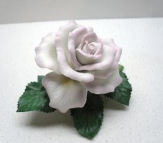 Tea Rose figurine from the Lenox Garden Flowers collection
