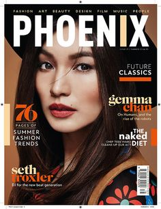 Cover star Gemma Chan photographed Seb Winter