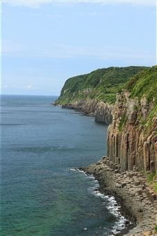 Scenic Landscape in Iki-tsuki island, Nagasaki Prefecture, Japan - Getty Images JP #travel #kyushu #fault