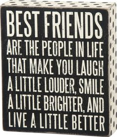 Best Friends Wood Sign