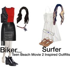 Teen Beach Movie 2 And 1 Inspired Outfit by r5ergirl on Polyvore featuring polyvore, fashion, style, J.Crew, Alice + Olivia, Tommy Hilfiger, Tamara Mellon, Acne Studios and Hipanema