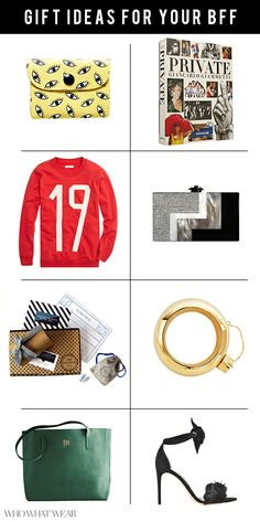 Holiday Gift Guide: Ideas for Your BFF #girlfriends