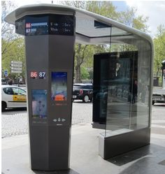 Bus stop of the future