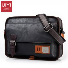 629869c596 Find More Crossbody Bags Information about UIYI PU Leather Messenger Bag  Men s Bags Crossbody B Bags
