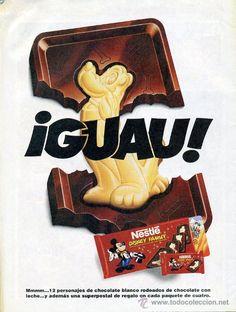 Chocolat Disney Family - nostalgie !