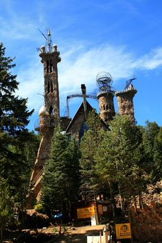 Bishop's Castle in Rye, Colorado