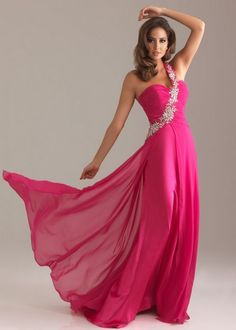 a0379cf14403 Hot Pink Evening Gown fashion dress pink hot prom formal gown evening Prom  Dresses Uk