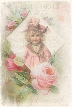 JanetK.Design Free digital vintage stuff: roses