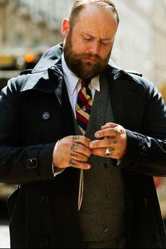 Stylish Big & Tall Men's Suit