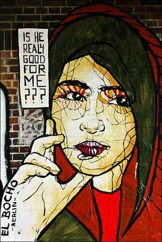 Beyond Banksy Project / El Bocho - Berlin, Germany