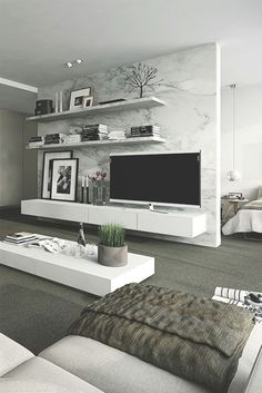 10 Classic Marble Designs With a Modern Style_See More Inspiring Ideas at: www.homedesignide...