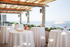 Lenga Terrace at Hotel Palace in Dubrovnik - perfect venue for smaller wedding ceremony and/or reception