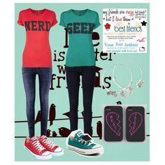 Best friend outfits | Matching Best Friend Outfits - Polyvore