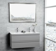 Mirror for 1st floor bathroom -- Bathroom furniture | dansani.co.uk