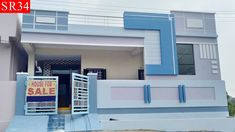 independent house for sale at hyderabad House Front Wall Design, Single Floor House Design, House Outside Design, Village House Design, House Gate Design, Simple House Design, Bungalow House Design, Minimalist House Design, Front Design