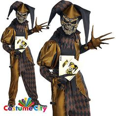 Adult mens jokers wild clown #jester #halloween #horror fancy dress costume View  sc 1 st  Pinterest & DC Comics Menu0027s Batman Jokeru0027s Wild T-Shirt | Jokers wild and Products