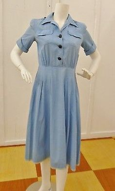 WW2 AMERICAN RED CROSS CANTEEN CORP WORKER UNIFORM NAMED