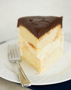 Homemade Ice Cream Cake Recipe | Brown Eyed Baker