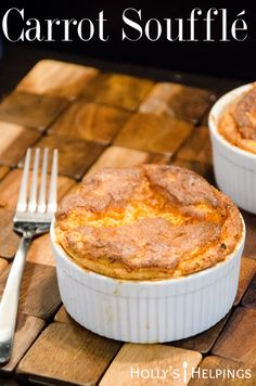 Carrot Souffle - with step by step instructions Vegetarian Main Dishes, Vegetarian Recipes, Cooking Recipes, Fun Recipes, Easter Recipes, Thanksgiving Recipes, Appetizer Recipes, Maryland Recipe, Carrot Souffle