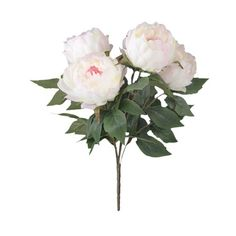 yontree bouquet de fleurs artificielles décoratif pivoine fête