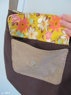 Pickup Some Creativity: Purse for me + zippy pouch