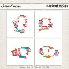 Sweet Shoppe Designs is a full service digital scrapbooking site which offers high quality digital scrapbook products from the industry's top designers. Tiny Turtle, Turtles, Digital Scrapbooking, Memories, Templates, Make It Yourself, Inspired, Sweet, How To Make